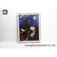 Cheap PET / PP 3D Lenticular Pictures Printing Beauiful Flower Pattern For Home Decoration for sale