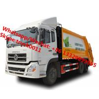 Best high quality and lower price Customized dongfeng 18cbm garbage compactor truck, refuse garbage vehicle for Botswana, wholesale