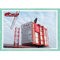 Best Adjustable Speed Rack And Pinion Lift System , Building Industrial Elevators And Lifts wholesale
