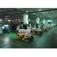 Best Sky Blue Copper Cable Twisting Machine , Double Twist Bunching Machinery wholesale