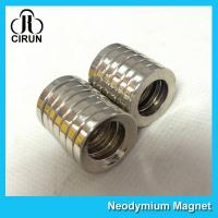Best Multipole Radial Magnetization Neodymium Magnets Ring Shaped for Speaker wholesale
