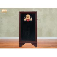 Best Outdoor Wood Framed Double Sided Menu Board 3D Polyresin Chef Figurine Restaurant Decor wholesale