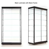 Best LED Illuminated Wall Showcase Cabinet , Stand Up Retail Store Display Cases wholesale