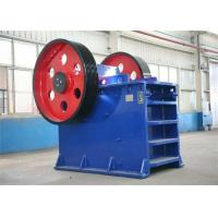 Best 250 R / Min Jaw Crusher Machine Energy Saving Gold Ore Crushing Machine PE600×900 wholesale