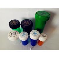 Best Smooth Child Resistant Reversible Cap Vials , Odorless Medicine Pill Bottles wholesale