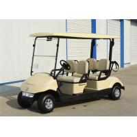 Quality Energy Saving 4 Seater Golf Carts Golf Electric Buggy With Battery Power wholesale