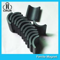Best Small Permanent Arc Segment Ferrite Magnet Y25-Y35 For Motorcyceles Motor wholesale