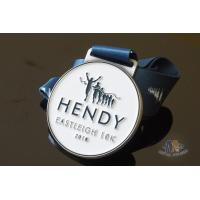 Best Run Run Or 10K Marathon Custom Award Medals HENDY Sports Logo Filling Soft Enamel wholesale
