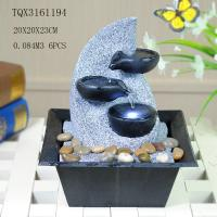Buy cheap Fashionable Design Polyresin Water Fountain Handmade For Shop Decoration from wholesalers