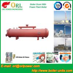 Bucket central heating boiler mud drum ISO9001
