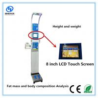 Best Ultrasonic height weight scales with blood pressure , temperature, fat mass  for medical  Equipment wholesale