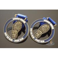 Best Zinc Alloy Cut Out Sports Metal Medal / Personalised Running Medals wholesale