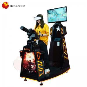 Best Black Color VR Gatling Simulator Virtual Reality Gun Shooting Game wholesale