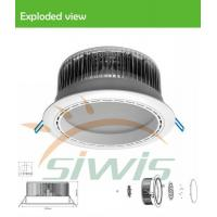 Best High Brightness LED Recessed Downlights 36W 12 Volt 3600Lm 120°Angle RA80 wholesale