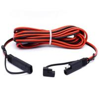 Buy cheap 2 Pin SAE Connector Quick Disconnect Trailer Wire Harness Male to Female Cable from wholesalers