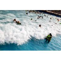 Quality Outdoor Water Park Wave Pool / Security swimming pool wave machine wholesale