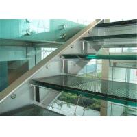 Best Commercial Building 10mm Laminated Glass , Clear / Colored Decorative Laminated Glass wholesale