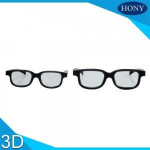 Quality Plastic Circular Polarised 3D Glasses Passive Polarizing Glasses For Cinema Use wholesale