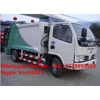 Best Customized high quality and lower Dongfeng 5m3 compression wastes collecting vehicle with rear loading hopper for sale wholesale