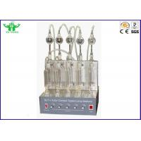 Buy cheap ASTM D1266 Oil Analysis Equipment Gasoline And Kerosene Sulfur Content Tester from wholesalers