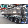 Best Safety Tri Axle Aluminum Alloy Fuel Tank Semi Trailer 30m3 - 45m3 wholesale