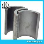 Best Industrial Ferrite Arc Magnet For Treadmill Motor / Water Pumps / Dc Motor wholesale