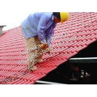 Best plastic PVC+ASA easy installation steel structure roofing tile wholesale