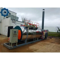 Free-Installation Small Skid-Mounted Gas Steam Boiler For distillery Equipment for sale