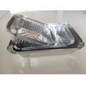 Silver SGS Food Grade 1145 Aluminium Container Foil for sale
