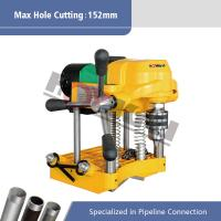 """Best Electric Pipe Hole Cutting Machine for 6""""(152mm) Steel Pipes Hongli JK150 wholesale"""