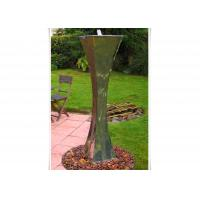 Modern Landscape Stainless Steel Water Features For The Garden , Mirror Polishing