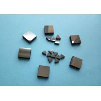 Best Wood Woking Stone Metal Cutting PCD Die Blanks , Tips Inserts PCD Square Blanks For Cutting Stone wholesale