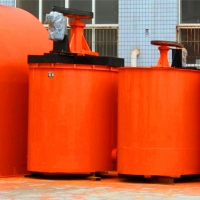 High Capacity Mining 1.4m3 Agitation Tank For Mineral Pulp Mixing for sale