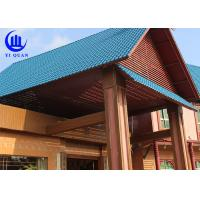 Best Lightweight  Spanish ASA Synthetic Resin Roof Tile Prefabricated Houses Excellent decay resistance wholesale