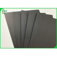 China Black Colored Cardstock Thick Paper 80g 120g For Bag Making for sale
