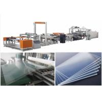 Best PMMA Polycarbonate Sheet Extrusion Line Sheet Extrusion Equipment Extruder Machine wholesale