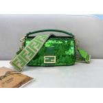 China Bead Piece Decoration Bling Bag Unque Shine Cross-Body Bag Baguette Bag for sale