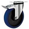 Best Steel Housing Industrial Dolly Wheels , Zinc Plated Industrial Table Wheels wholesale