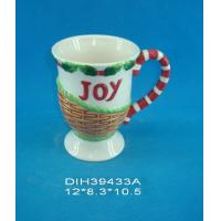 Best Customized Environmental Sublimation Ceramic Mugs Wording Joy Printed For Home And Hotel wholesale