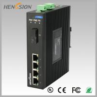 Best 1.2Mpps Fiber Optical Network Switch , Din Rail Installed Outdoor Ethernet Switch wholesale