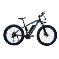 China Cool Electric Mountain Bicycles , Fat Tire Electric Bike Bicycle 26 Inch Wheels on sale