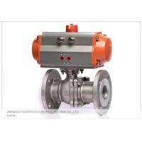 Best Stainless Steel Flanged Pneumatic Actuator Valve Control For Industrial Use wholesale