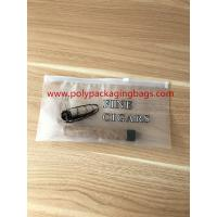 Best Zipper Locks Resealable Cigar Humidor Bags With Slider LDPE Laminated White Color wholesale