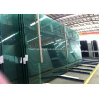 Quality Fire Proof Safety Laminated Glass Curtain Wall / Stairs Safety Glass Panels wholesale