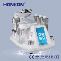 Buy cheap HONKON Safe and  Reliable Acne Removal Micro Oxygen Bubble Jet Peel Cleaning Machine with Ultrasonic Head RF from wholesalers