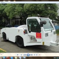 Best 27500 Kilogram Aircraft Tow Tractor Reverse 20 Km / H Max Speed Long Life Span wholesale
