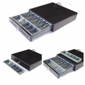 Quality Cash Drawer Money Storage Box Plastic Cash Tray two media slots 400C wholesale