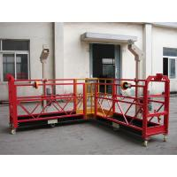 Best 90 Degree Red Steel Rope Suspended Window Washing Platform Cardle 3KW × pcs wholesale