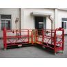 Best 90 Degree Red Steel Rope Suspended Window Washing Platform Cardle 3KW × pcs wholesale