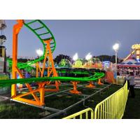 Best 12 Seats 380V Kiddie Roller Coaster With Ethnic Characteristics Decoration wholesale
